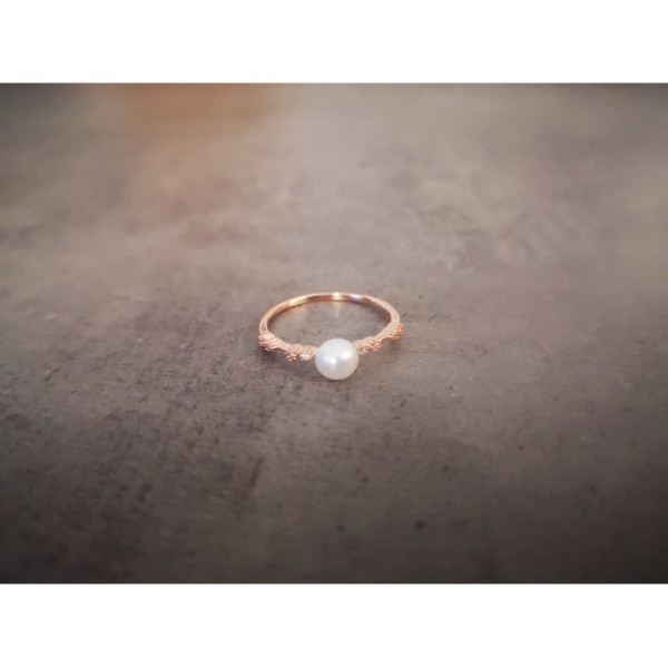 Δαχτυλίδι Μαργαριτάρι Γλυκού Νερού Ασημένιο 925 Δαχτυλίδια