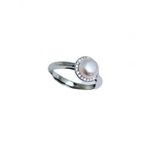Ασημενια δαχτυλιδια - Μαργαριτάρι Γλυκού Νερού SILVER925 Δαχτυλίδια
