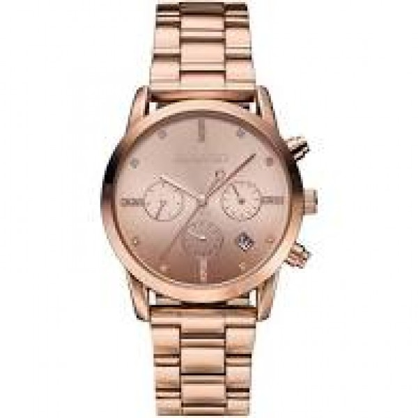 Ρολόι Madison Chrystals Rose Gold Gregio