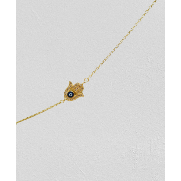 Ασημενια βραχιολια - Βραχιόλι Παλάμη Της Τύχης SILVER925 Βραχιόλια