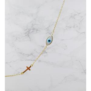Ασημενια βραχιολια - Βραχιόλι Μάτι SILVER925 Βραχιόλια