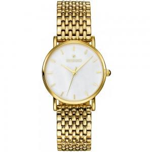 Ρολόι Skive Gold - White Gregio