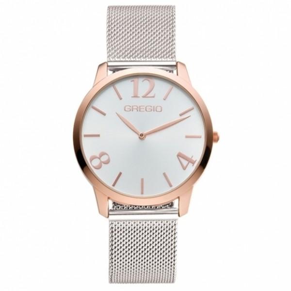 Ρολόι Simple Rose Silver - Pink Gregio